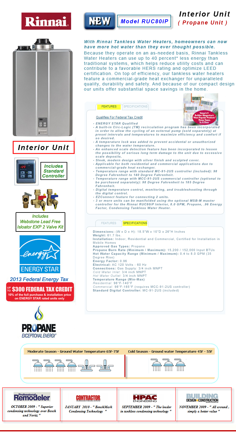 rinnai tankless water heater venting instructions