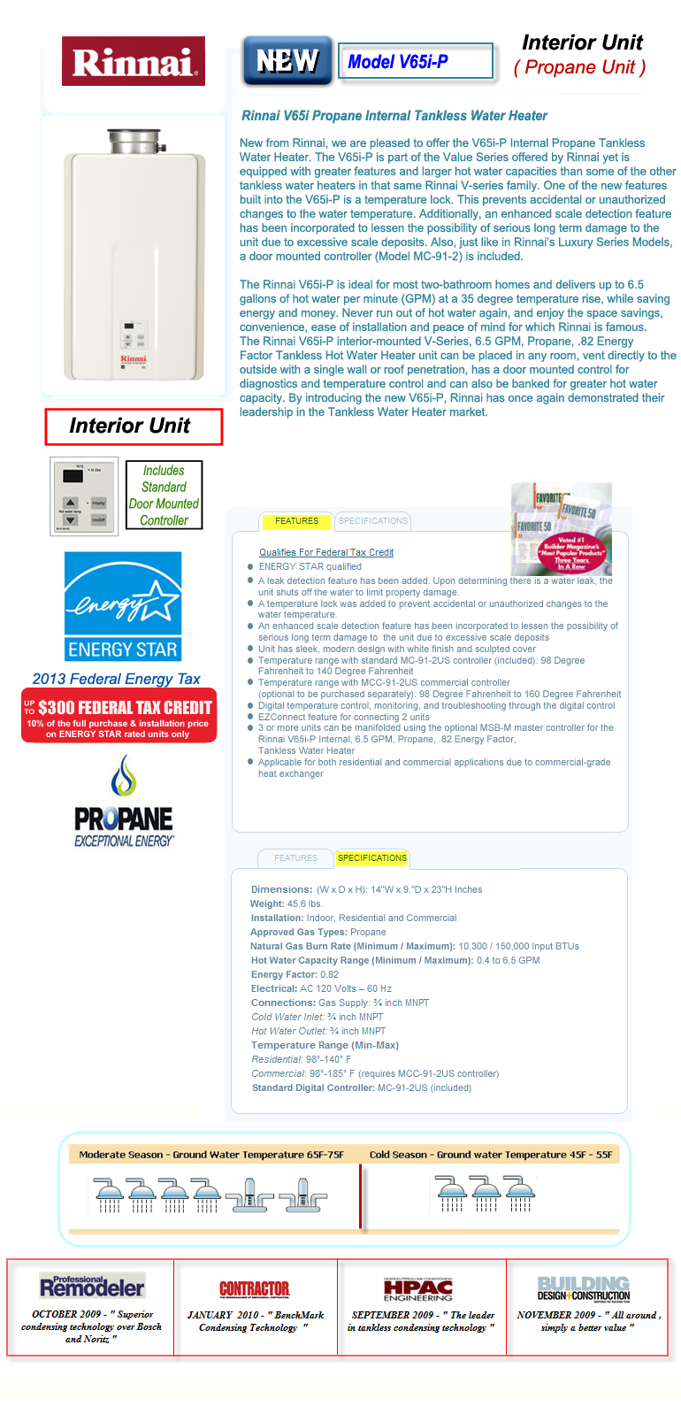 How to Use Rinnai Tankless Water Heater